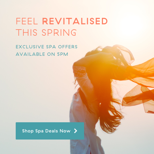 Feel revitalised this spring with our exclusive 5pm offers