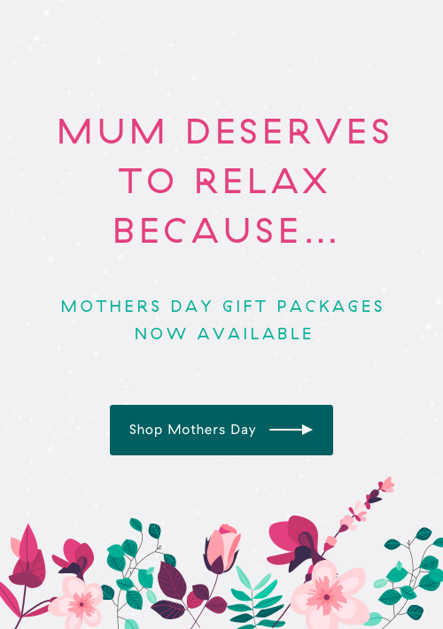 Mum deserves to relax because... shop mothers day