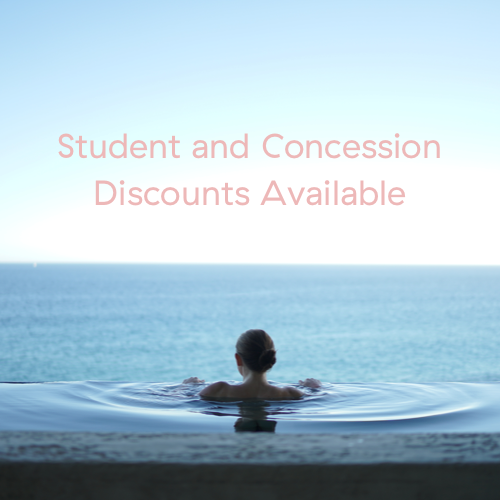 Student and Concession Discounts Available